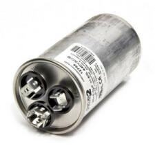 Dual Capacitor Round 25/2uf 450VAC