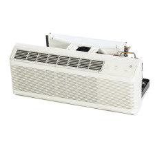 """PTAC Unit - 9k GE AZ Series 42"""" 208v Air Conditioner With 3.5 kW Resistive Electric Heat"""