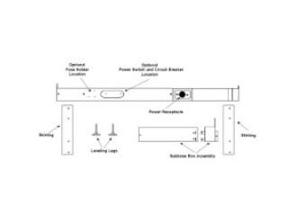 Amana PTSB330E Sub Base Kit