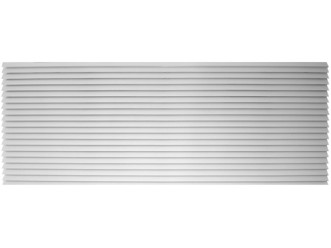 """Amana PGK01WB Exterior Louvered Polymer Grille-White-42"""""""