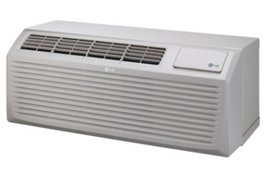 Image of LG PTAC LP123HDUC1 12000BTU 208/230V Heat Pump w/ Electric Heat