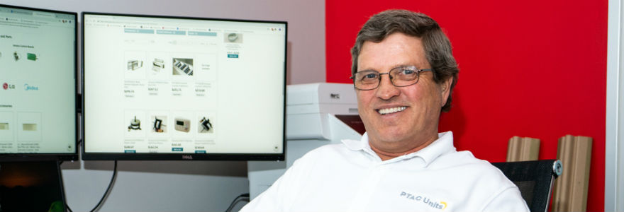PTACUnits.com parts manager Mike Ellis is ready to answer questions about PTAC parts and accessories