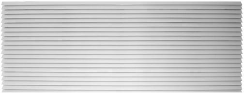 "Amana AGK01CB Exterior Louvered Aluminum Grill-Clear 42"""