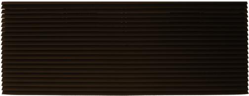 "Amana AGK01DB Exterior Louvered Aluminum Grille-Dark Bronze-42"""