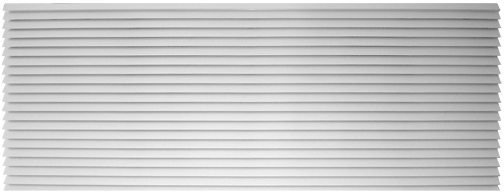 Amana AGK01WB Exterior Louvered Aluminum Grille-White-42""