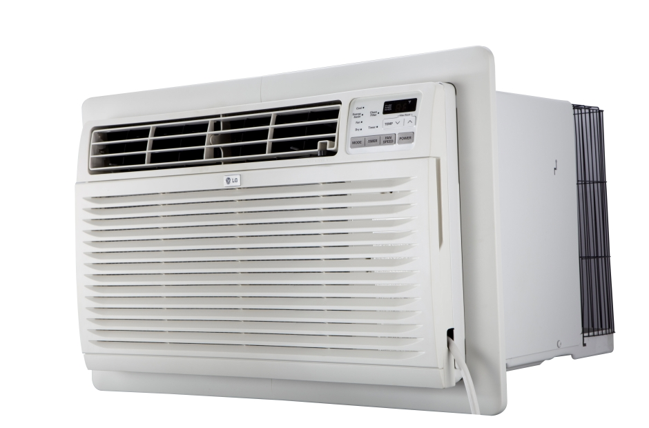 Lg lt1037hnr through the wall air conditioner 10000 btu for Motor for ac unit cost